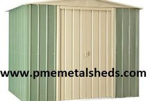 Garden Metal Shed Gardening / Dedicated to providing reliable, durable and affordable metal garden sheds, Shanghai Passion Machinery Equipment Co., Ltd. offer a variety of style metal garden sheds, steel garages, arrow sheds, pent metal shed, and metal pent roof outdoor storage. With a wide range of sizes, styles and colors, the range of PME sheds make a great choice for your garden storage.