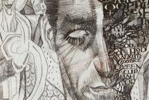 'Art by Dave Mckean'