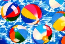 Down by the Seashore / Seashells, Beach and Seashore Fabrics