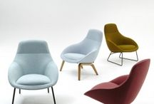 Always Lounge Chair / naughtone's Always Lounge chair. Contemporary modern furniture. Perfect for modern offices, break out spaces and lounges. Always lounge is versatile and available in almost any fabric!