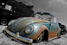 Vw aircooled beetle patina
