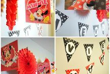 Minnie mouse party / by Celina Jones