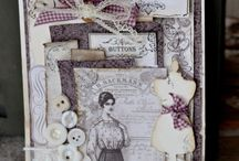 womens vintage cards