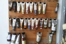 Art Studio Ideas and storage / How to organize my Art Studio