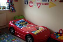 Car bedroom / Car themed bedroom