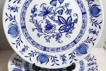 my blue porcelain