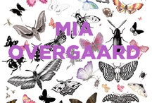 Mia Overgaard Illustration / Mia Overgaard is the master of detail. As a fashion and lifestyle illustrator, she works with in multiple mediums from pencil sketching to watercolor.