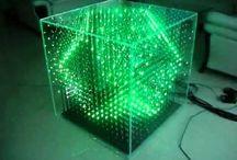 Électronique - Cube LED