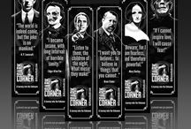 Dark Corner Store / Cthulhu, Frankenstein's Monster, Dracula and every Ghastly creature known to mankind commands you to buy products from DARK CORNER BOOKS STORE!  Help us spread the DARKNESS!