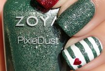 Nailart christmas