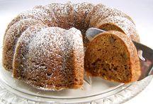 Pumkin walnut cake