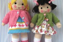 Soft Toys etc / Knitted and crochet dolls animals and toys