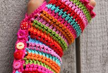 Crochet gloves/mittens all sizes / Gloves/mittens for everyone