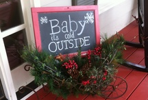 Front door decor / by Coffee with Julie