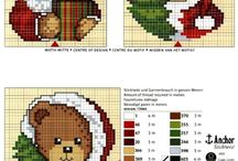 cross stitch cristmas