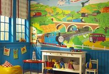 kids playroom / by Shelly Whaley