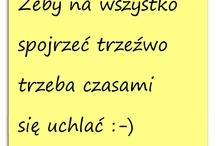 myśli po polsku