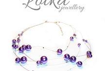 Naszyjniki Lotka Jewellery / Zapraszamy do obejrzenia kolekcji naszyjników Lotka Jewellery, więcej modeli i inspiracji na naszej stronie www.idadi.pl/lotka/naszyjniki.html