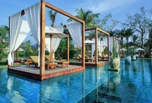 Amazing & Unique Pools around the world / The most amazing pools in hotels around the world! Perfect for luxury lovers, those going to a honeymoon or just someone looking for an inspiration for his own backyard.