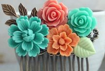 Crafts with Resin flowers