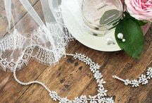 Our Wedding Jewellery / Whether you're looking for a pretty little thank you gift for your bridesmaids or a statement necklace, we've got the jewellery to suit your style. Shop our full collection online at www.misswhitebride.com