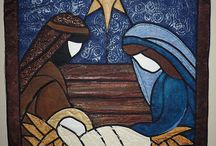 Nativity quilts