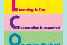 English: Classroom material