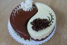 ying yang torta
