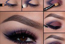 Øye-makeup med damp
