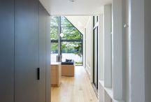 Interior hall ways