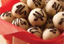 truffles/balls / by R M