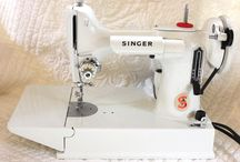 Vintage Sewing Machines / by Freemotion by the River