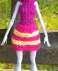 Dressing Monster High doll
