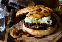 Burger Recipes / Burgers galore.