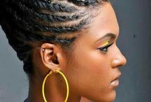 Black hair style / Black hair style, african american women