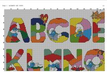 Alfabeti punto croce / ABCxxx