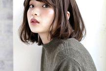 ボブ【2018 髪型 オーガニック ボブスタイル】