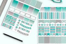 Etsy - paper, clipart, stickers
