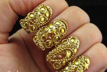 nail the nail / by Aaroshi Shimmer Stone