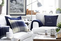 Blue and white / by Kathy Sue Perdue (Good Life Of Design)