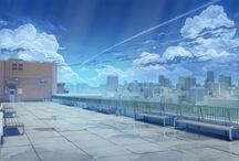 Moodboard - Cenários Urbanos