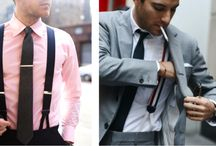 Business suspenders / Suspenders that make you a boss