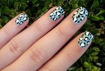 Nails - Leopard Love / Nail art done in a wild way!
