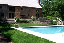 Backyard Spaces / landscaping, swimming pools