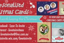 Christmas 2013 / Give a Christmas card worth keeping this year with our gorgeous range of personalised cards - where your child is the star! Visit http://lovetoinvite.wix.com/lovetoinvite Or email: lovetoinvite@live.com.au