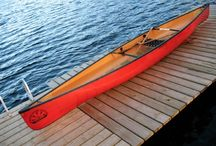 Souris river canoes / Tranquill
