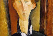 Modigliani / Storia dell'Arte Pittura Scultura  20° sec. Amedeo Modigliani  1884-1920