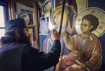 Εικονες, μοναχοι, μοναστηρια, αγιοι, ψαλμοδιες