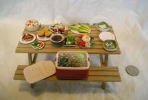 DH Miniatures - Food/Drinks / Includes some #tutorials / by Alina N. Glez