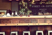 art gallery cafe